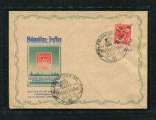 SBZ Handstemepl Dresden 14 - 8 Pf. auf Sondebeleg   (Q98)