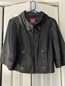 Elle Black Size Large Jacket