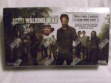 The Walking Dead AMC TV Series Season 3 Part 1 Trading Card Box.  2014 CRYPTZOIC
