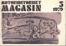 Motorhistoriskt Magasin Swedish Car Magazine 5 1979 Peugeot 032717nonDBE