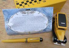 New Wahl Eversharp Yellow Cab Limited Set Fountain Pen - MEDIUM 14k Nib