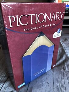 """PICTIONARY  #04531 Board Game NEW/FACTORY SEALED """"The Game Of Quick Draw"""" Read"""