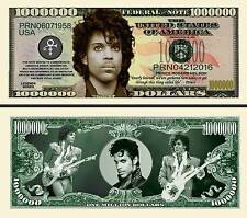 Prince New-Style Million Dollar Bill Collectible Fake Funny Money Novelty Note