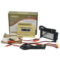 HTRC 80W B6V2 RC car Helicopter Balance Lipo NIMH Charger with 15V 6A AC Adapter
