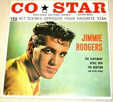 Jimmie Rodgers Co-Star Record Acting Game 1977 Roulette Records Sealed LP