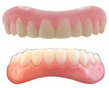 SMALL Instant Smile Veneer Set Uppers & Lowers 2 extra bags of fitting material