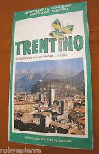 GUIDA TURISTICA Carta stradale trentino de agostini turistica de agostini italy