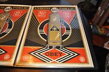 Endless Power - Shepard Fairey - Obey Giant - S/N - 2013 - Rare - Street Art