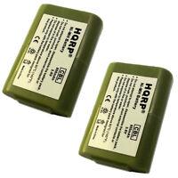 Pack de 2 HQRP Batterie Téléphone sans Fil pour At&t 102 103 89 1324 00 00 89