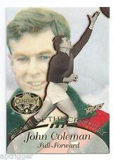 1996 Select Hall of Fame Team of the Century (TC 15) John COLEMAN Essendon