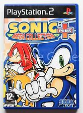 SONIC MEGA COLLECTION + PLUS - PLAYSTATION 2 PS2 PLAY STATION 2 - PAL ESPAÑA