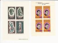 Burkina Faso, Postage Stamp, #C17a, C19a Mint NH, 1964 Kennedy, JFZ
