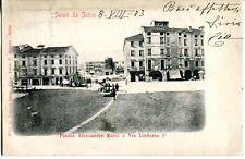 Schio - Saluti da Schio, Piazza Alessandro Rossi e Via Umberto - Viaggiata (39)