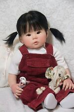 Reborn Doll Custom Order Kana by Ping Lau ~Small Toddler Asian Baby Girl~