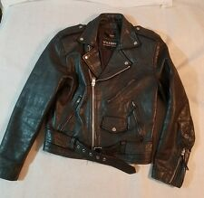Wilsons Leather Jacket Mens Small Motorcycle Biker Rider Thinsulate Jacket #7