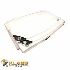 Heavy Duty Bright White Tarp (Multipurpose Tarp) (Available in 29 Sizes)