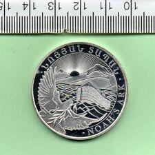 More details for 2019 armenia genuine ounce noah's arc capsuled 500 dram coin
