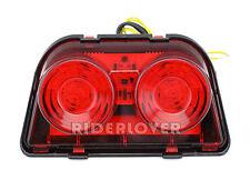 Integrated LED Tail Light Turn Signal Honda CBR400 NC29 CBR250 NSR250SE #Red