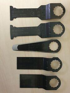 Bosch-Zubehör Tauchsägeblatter Multifunktionswerkzeuge Fein Supercut 5 tlg,