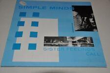 Simple Minds - Sister Feelings Call - 80er - Vinyl Schallplatte LP