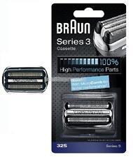 Braun 32S New Series 3 Cassette silver foil & cutter 390CC 380 370 CC