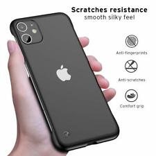 ANDMO Ultra Slim iPhone 11 Plastic Case with Clear Matte Finish Soft TPU Bumbers
