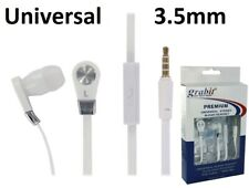 High Quality 3.5mm Stereo Hands Free Headset Earbuds with Mic & Answer Button