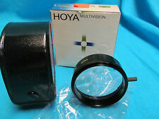 HOYA 49mm MULTIVISION 6F FILTER  WITH BOX AND CASE MINT