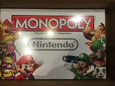 NEW Monopoly Nintendo Collector's Edition USAOPOLY 2014