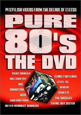 PURE 80s THE DVD, 14 1980s MUSIC VIDEOS, TEARS FOR FEARS, BIG COUNTRY, LEVEL 42