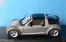 SMART ROADSTER COUPE 2003 SILVER ANTRAZIT MINICHAMPS 1/43 SILBER SCHWARZ ARGENT