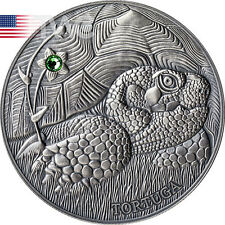 Andorra 2014 10 diner Pond Turtle - Atlas of Wildlife Antique finish Silver Coin