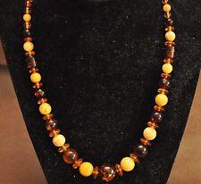 "Beautiful Baltic Butterscotch Amber Necklace 18.91 grams 18.5"" Long"
