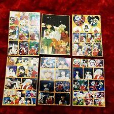 Rare Inuyasha Final Act Sticker Set!!!