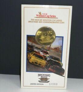 VINTAGE 1994 NASCAR WINSTON CUP SERIES BRICKYARD 400 L.E. COIN