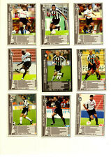Soccer Cards Panini wccf Japan 2001-2003 UDINESE ITALY 18 piece set