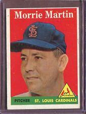 1958 Topps 53A Morrie Martin EX #D166696