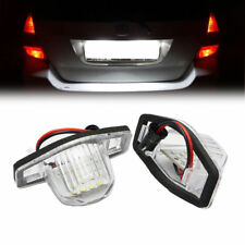 Led License Number Plate Light Bulb Fo Honda JAZZ Odyssey Stream Insight Logo 3D