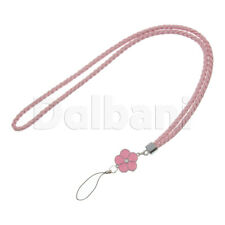 Multifunctional Lanyard Large Pink Cat Face for Android Devices