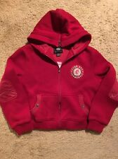 RARE ECKO RED ZIP FRONT ACRYLIC BLEND HOODED JACKET...SIZE XL