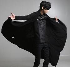 Moda para Hombre Abrigo Cárdigan manto Punk Gótico Sueltos Hip Hop manto abrigo capa