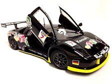 Lamborghini Murcielago FIA GT#7 Italian Design 1:24 Metal Diecast By Burago Toys