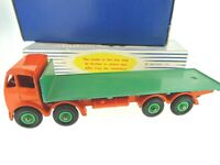 FODEN 902 DINKY SUPERTOYS FLAT TRUCK BURNT ORANGE GREEN NEAR  MINT BOXED 1954-7