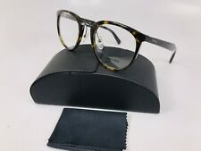 ✳New Authentic Prada VPR 03T 2AU-101 Havana & Silver Eyeglasses 52mm with Case