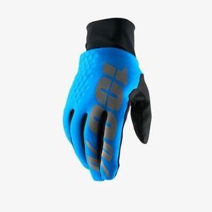 100% Hydromatic Waterproof Brisker Gloves Blue - XL