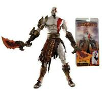 "God of War Kratos Flaming Blades of Athena 7"" Figure Video Game  19"