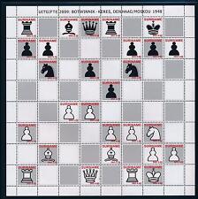 [SU1649] Surinam Suriname 2009 Chess board Botwinnik - Kerres 1948 MNH sheet