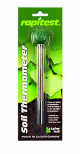 Rapitest Soil Lawn Flower Plant Test Garden Thermometer Fahrenheit & Celsius