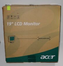 Acer 19-inch LCD Flat Panel Monitor #AL1912 b
