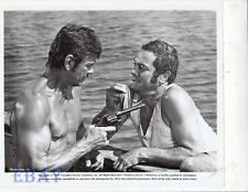 "Charles Bronson barechested, Tony Curtis VINTAGE Photo You Can't Win ""Em All"